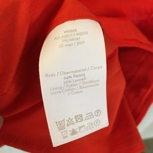 Boden Tops - Boden Red Ruffle Alicia Sleeveless Blouse